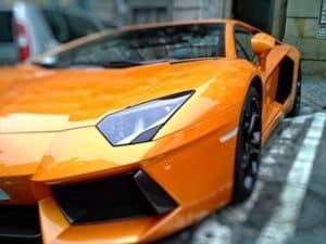 Tim Alerts review he drives an orange lambo