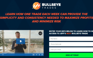 Jeff Bishop Bullseye Trades Alerts Service reviews