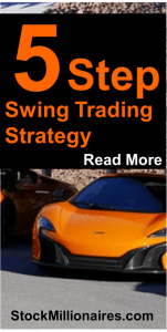 Here is a simple 5 step swing trading strategy that has been proven to make have a 70% win ratio. It is used by millionaire traders and the basics are outlined here for FREE! Must read if you want to learn how to trade stocks!
