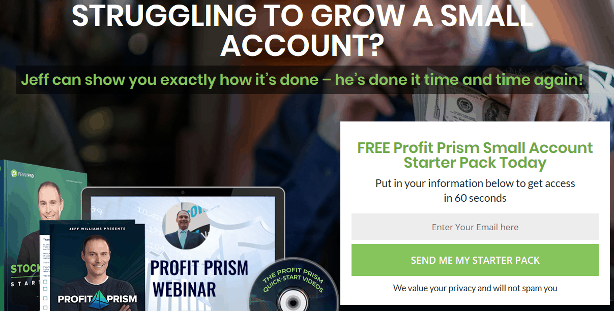 FREE Profit Prism Small Account Starter Pack Today